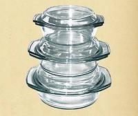 Набор термостойкой посуды, 0,7л+1,0л+1,5л 6в1   Dekok GW-711CD