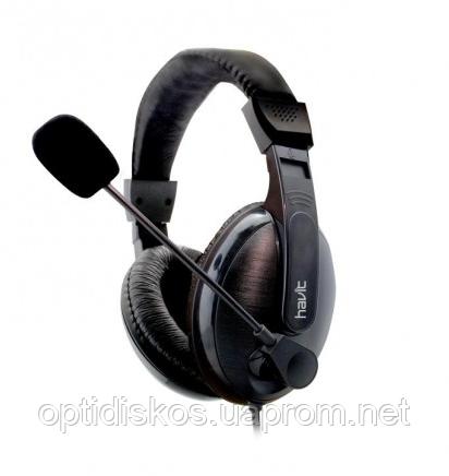 Гарнитура HAVIT HV-H139D, iron grey