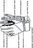 Рукавиці лижні PowerPlay 0091 Чорні L (Універсальні зимові), фото 5