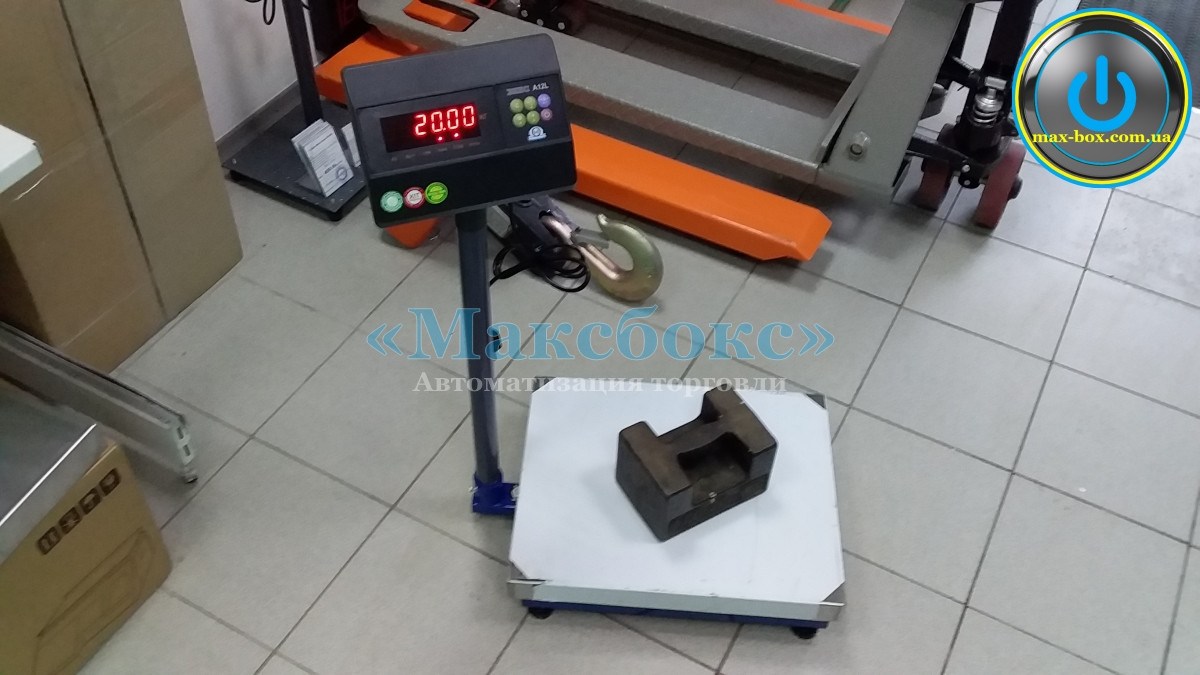 Товарные весы Зевс ВПЕ А12L 100 кг