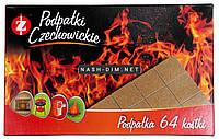 Розпалювачі вогню Czechowice в картонній упаковці 64 шт., фото 1
