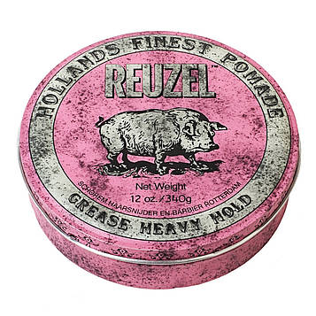 Воск Reuzel Pink Grease Heavy Hold Pomade 340 г