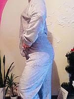 Пижама тёплая серая, фото 1