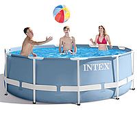 Каркасный бассейн Intex 26704, 305 x 99 см (лестница) , фото 1