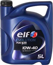 ELF Масло 10W40 Evolution 700 STI (5L)(ACEA/A3/B4 API/SN/CF VW/501.01/505.00/MB 229.1)