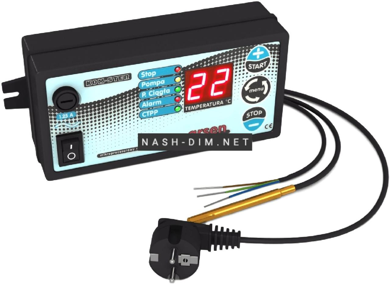 Автоматика для насосів опалення Kom-ster Arsen (термостат)