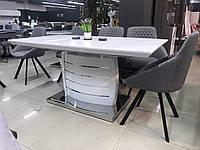 Обеденный стол  Fano. Стол раскладной Odessa akh (Столешница - стекло)