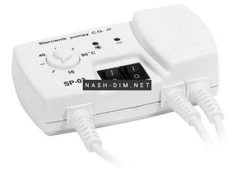 Автоматика для насосів опалення KG Elektronik SP-03