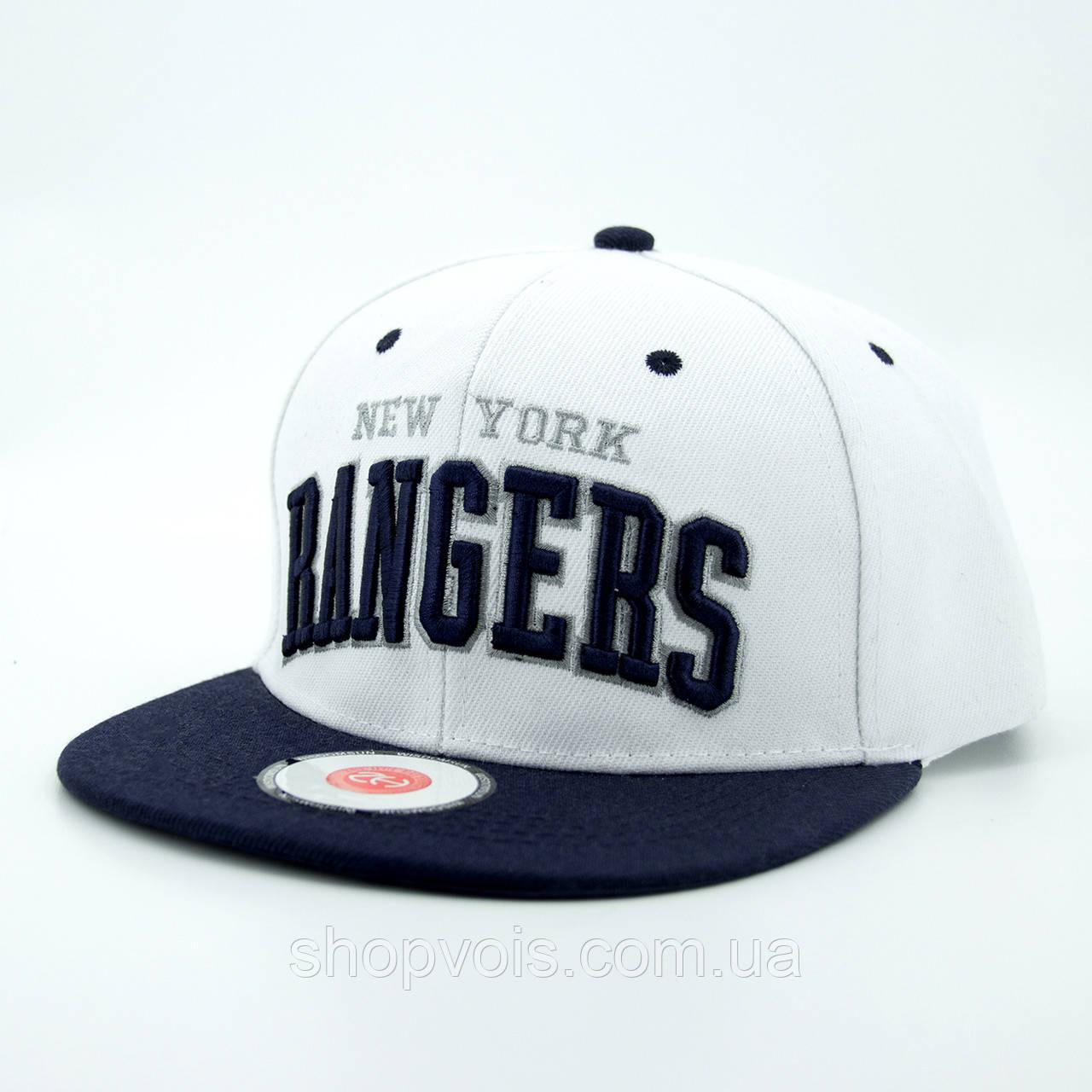 Кепка. Snapback New York Rangers. Реплика.