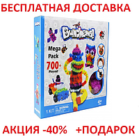 Bunchems Mega Pack Банчемс Мега Пак 700 Детский Конструктор липучка Развивающий