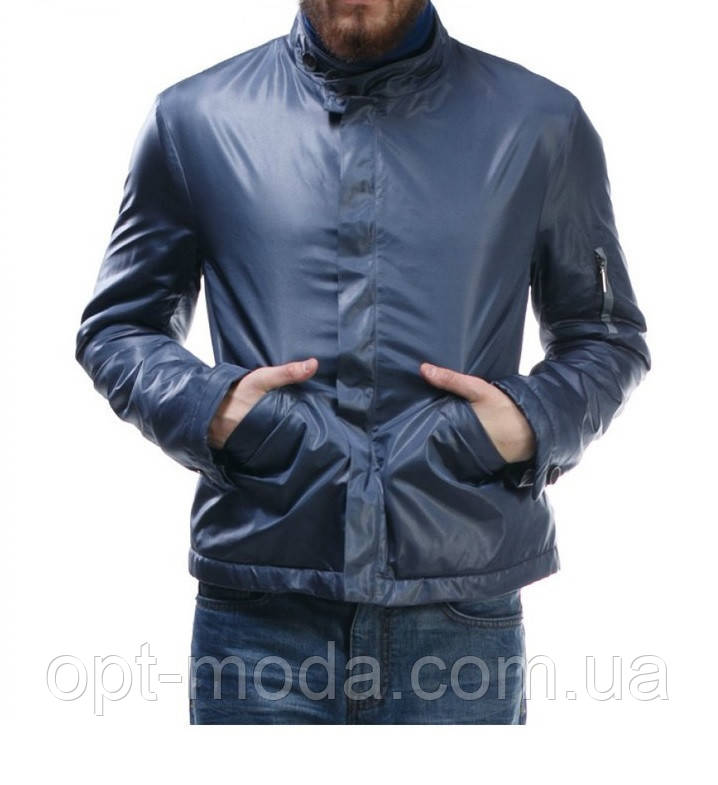 Короткая куртка мужская больших размеров демисезонная