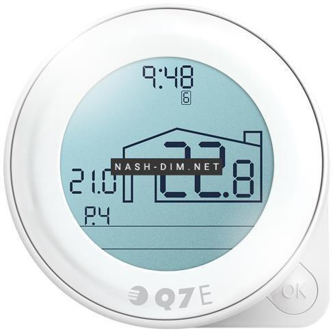 Кімнатний регулятор температури Euroster Q7E