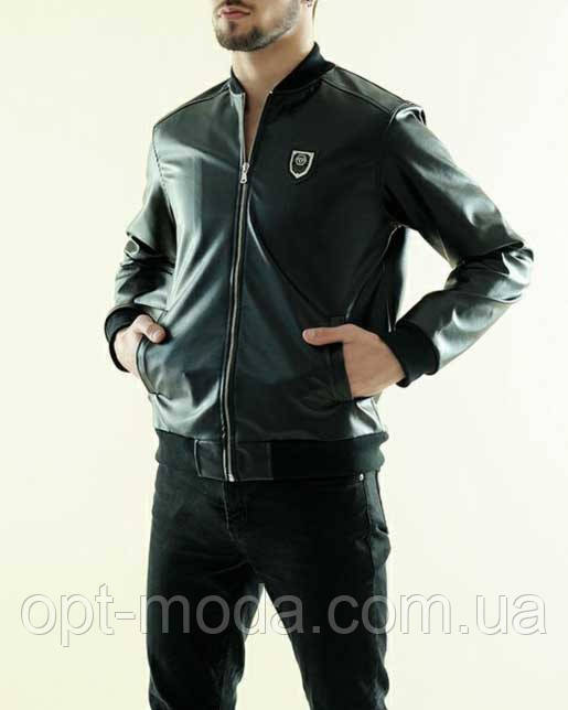Мужская куртка Филипп Плейн экокожа