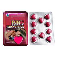 BIG BROTHER Большой брат - натуральный стимулятор потенции 10 шт., фото 1