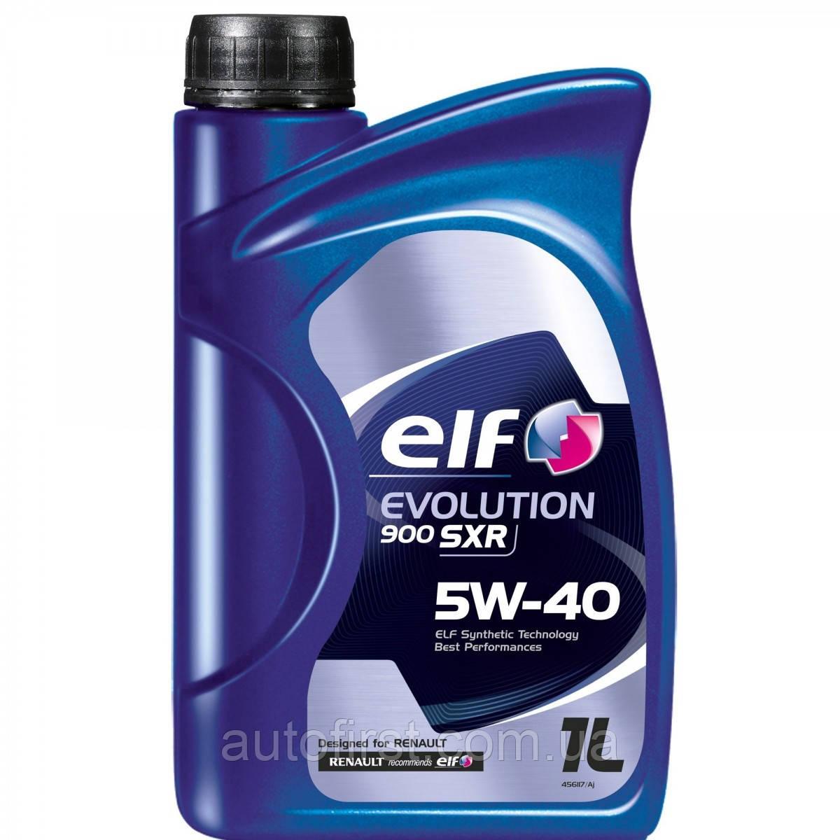 ELF Масло двигателя, Evolution 900 SXR 5W-40 1L