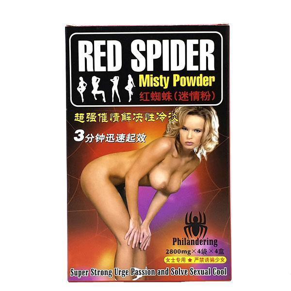 Red Spider Misty Powder Красный паук - возбуждающий порошок 16 шт.