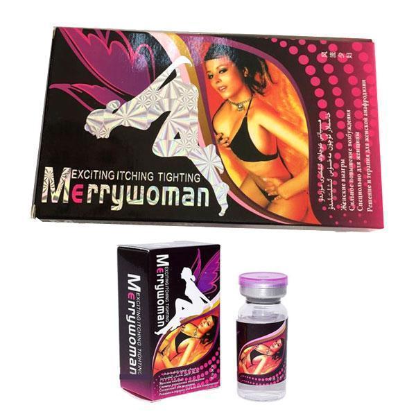 Merry Woman (Мери Вуман) - возбуждающие капли для женщин 9 флаконов