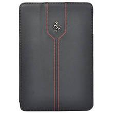 CG Mobile Ferrari Montecarlo Collection Black кожаный чехол книжка для iPad Air 1/2 (FEMTFCD5BL)