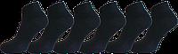 """Чоловічі шкарпетки снікерс чорні """"lomani"""""""