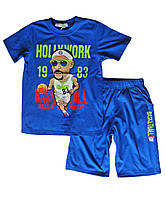 Комплект шорты футболка; 128 размер, фото 1