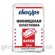 Шпаклевка EKOGIPS Saten гипсовая, 25 кг