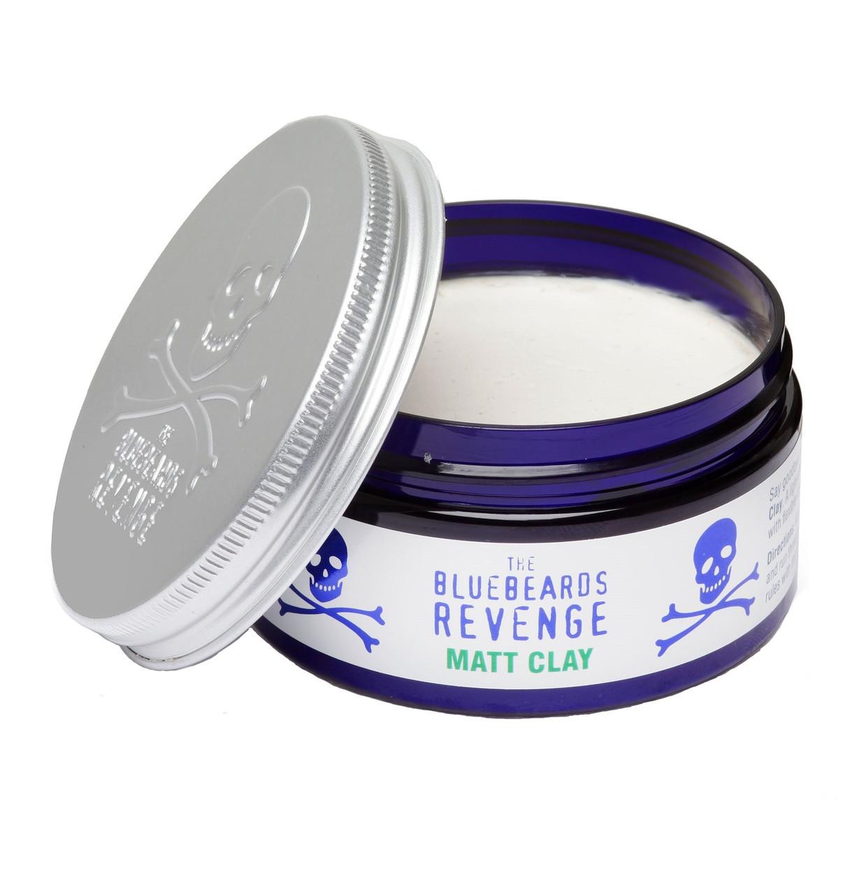 Глина для укладки волос BlueBeards Matt Clay 100 мл