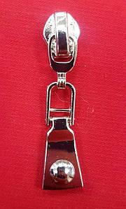 Бегунок 7 спираль S 0029 серебро