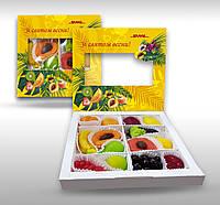 Мармелад в коробке с логотипом под заказ 8 Марта