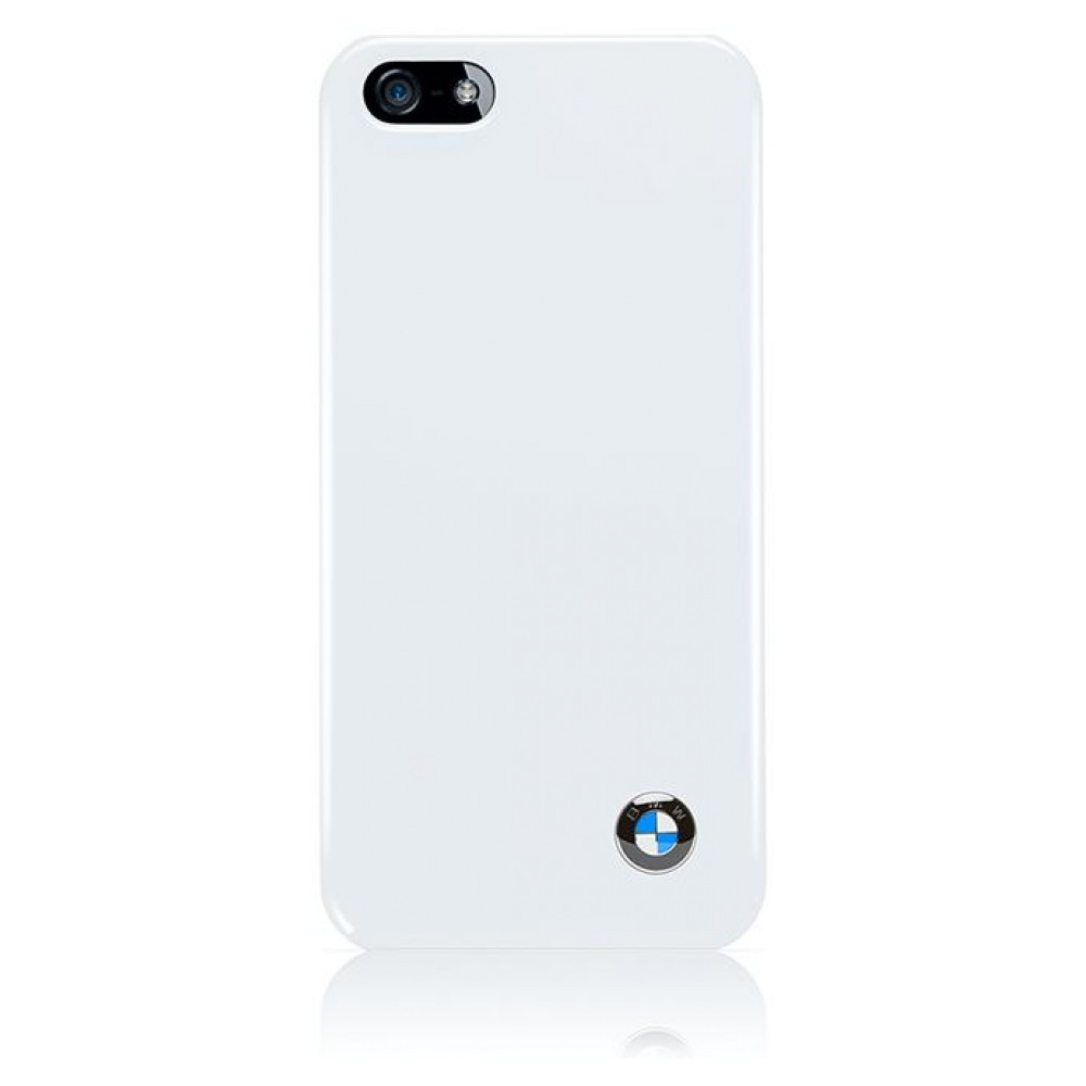 CG Mobile BMW Hard Case Shiny Finish White for iPhone SE/5/5S (BMHCP5SW)