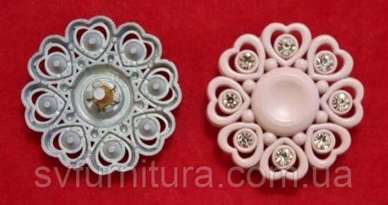 Кнопка 70084 розовый