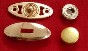 Кнопка 73555 золото