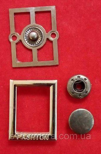 Кнопка К 27183 серебро