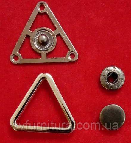 Кнопка К 27187 серебро