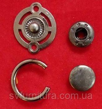 Кнопка К 27191 никель