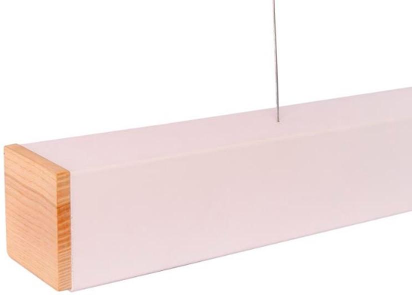Turman Lite 600+WOOD 18W 1800Lm светодиодный линейный светильник с деревянными торцами