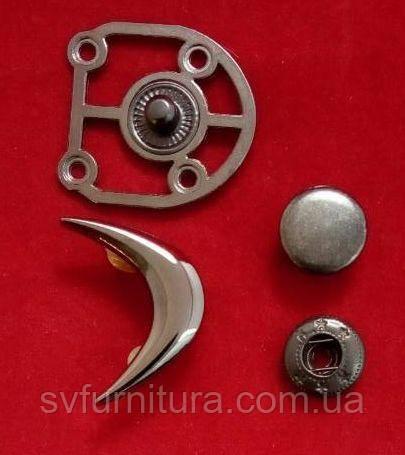 Кнопка К 73869 никель