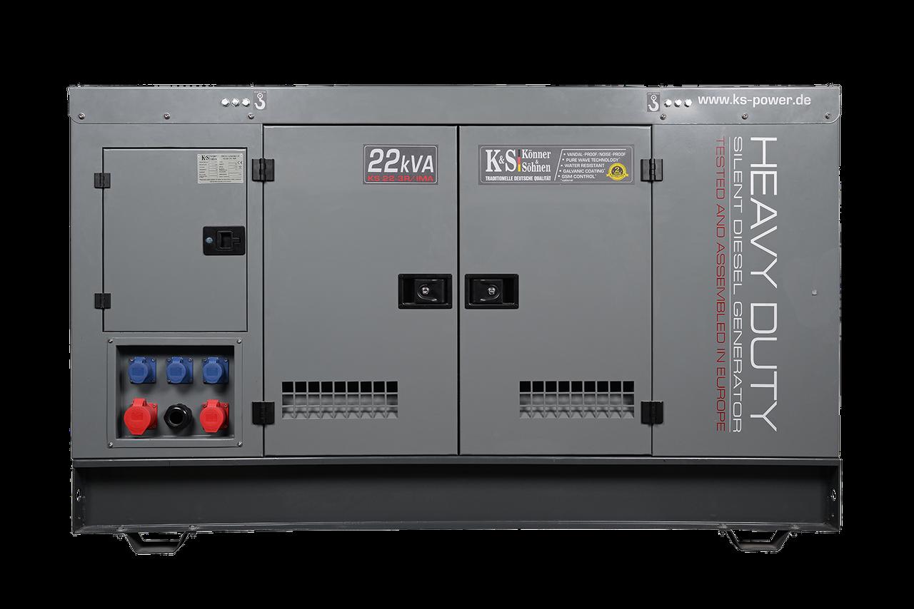 Генератор дизельный Konner&Sohnen KS22-3R/IMA (17,6 кВт)
