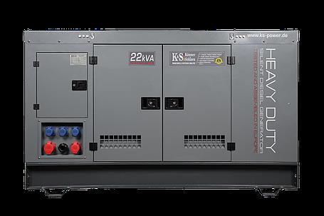Генератор дизельный Konner&Sohnen KS22-3R/IMA (17,6 кВт), фото 2