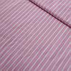 Ткань с белой полоской на розовом фоне, ширина 80 см