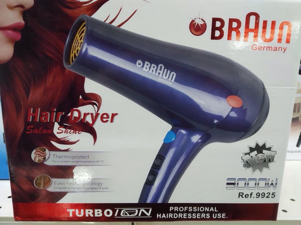 Профессиональный фен Braun RCE - 9925.(копия)- 3000 Вт