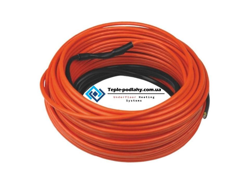 Тонкий нагревательный кабель (для теплого  пола)  Volterm ( обогрев 13 м.кв)