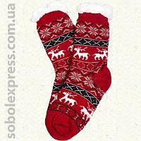 Носки-тапочки женские на силиконовой подошве