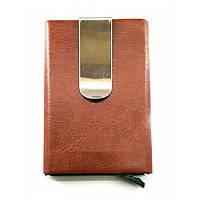Футляр для кредитных карт с зажимом для денег с выдвижным механизмом(10х6,5х1,5 см)