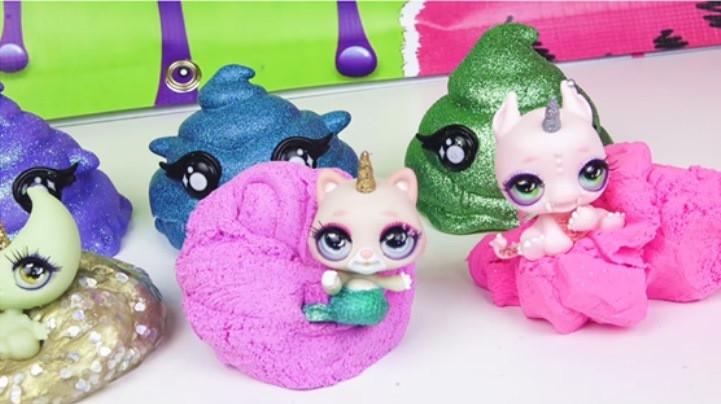 Чудо-сюрприз со слаймом Poopsie Cutie tooties surprise 555797, фото 3