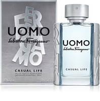Туалетная вода Salvatore Ferragamo Uomo Casual Life для мужчин (оригинал) -  edt 100 ml 027cda6b47059