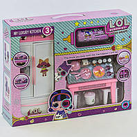 Кухня кукольная РТ 3040 В кукла в капсуле, аксессуары, в коробке