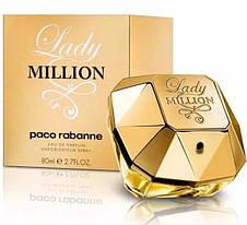 Paco Rabanne Lady Million Пако Рабанн Леди Миллион Original size Женская туалетная вода Парфюмированная, фото 2