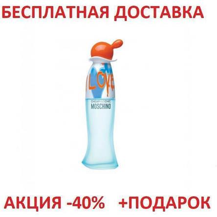 Moschino I Love Love Москино Лав Лав Original size Женская туалетная вода Парфюмированная Парфуми Тестер, фото 2