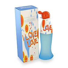 Moschino I Love Love Москино Лав Лав Original size Женская туалетная вода Парфюмированная Парфуми Тестер, фото 3
