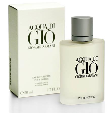Armani Acqua di Gio pour homme Original size 50ml наливная мужская туалетная вода тестер аромат, фото 2